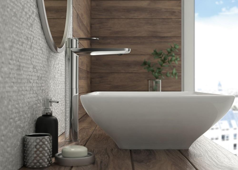 BGA 021K Ūdens maisītājs vannas istabai Deante Alpinia 1