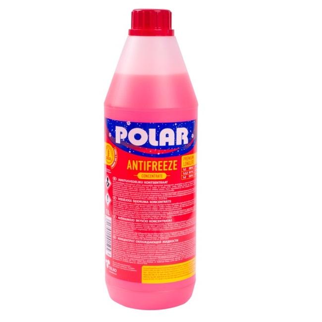 Polar antifrīzs Long Life sarkans koncentrāts 1L
