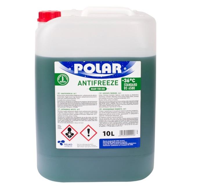POLAR Antifrīzs Standart zaļš 10L