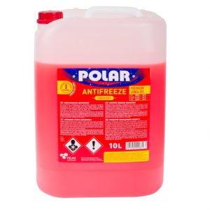 POLAR Antifrīzs sarkans koncentrāts 10L