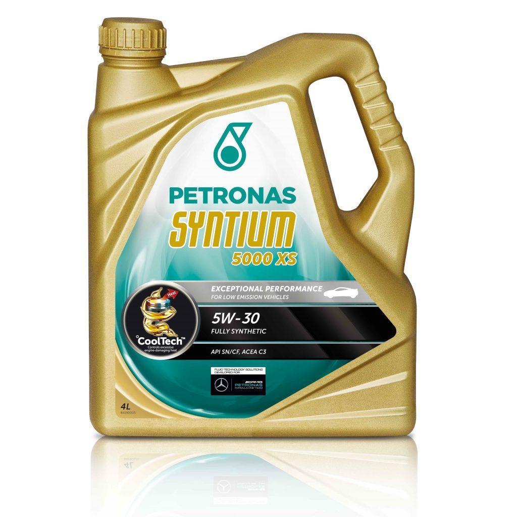 Motoreļļa Petronas Syntium 5000 XS 5W30 4L