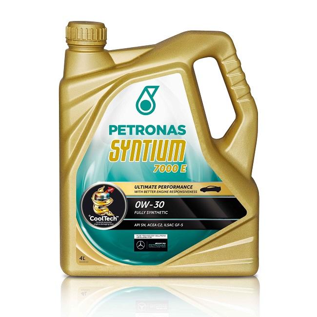 Motoreļļa Petronas Syntium 7000 E 0W30 4L