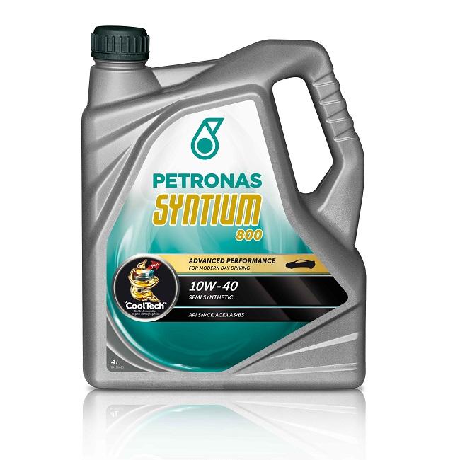 Motoreļļa Petronas Syntium 800 10W40 4L