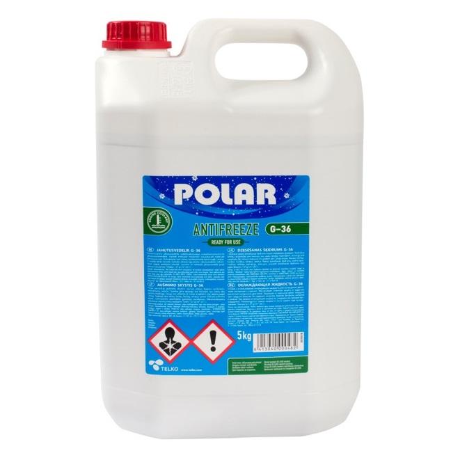 Polar antifrīzs G36 5L
