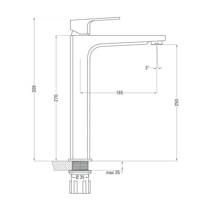 BGM 021K ūdens maisitājs Maruna specifikācija
