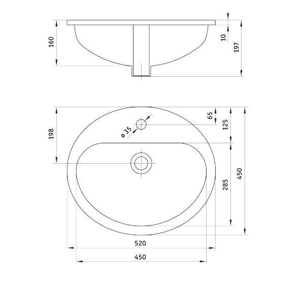 CDK 6U5B Izlietne Konwalia specifikācija