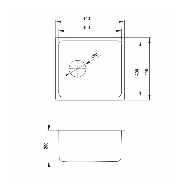 ZPE 010B izlietne Engeria specifikācija