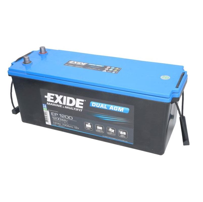Akumulators EXIDE DUAL AGM EP1200