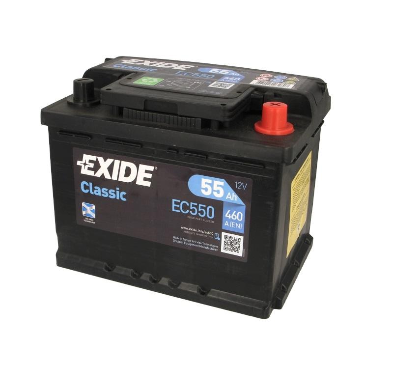 Akumulators EXIDE CLASSIC EC550