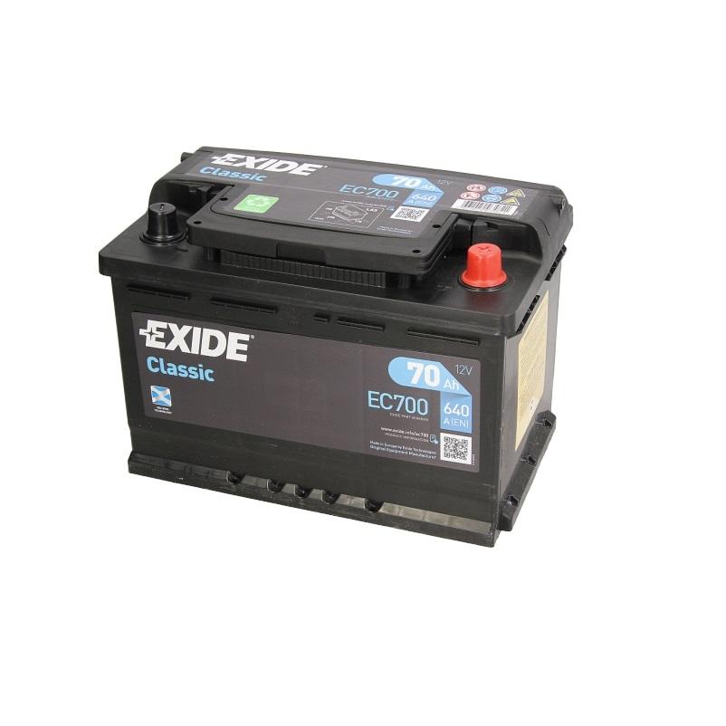 Akumulators EXIDE CLASSIC EC700