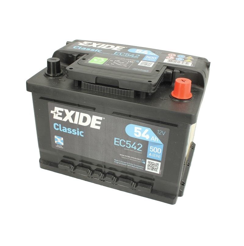 Akumulators EXIDE CLASSIS EC542