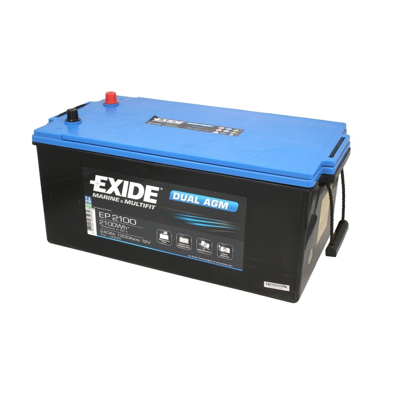 Akumulators EXIDE DUAL AGM EP2100