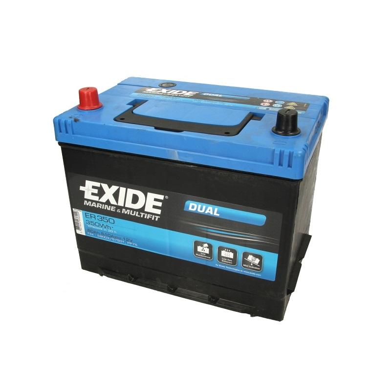 Akumulators EXIDE DUAL ER350