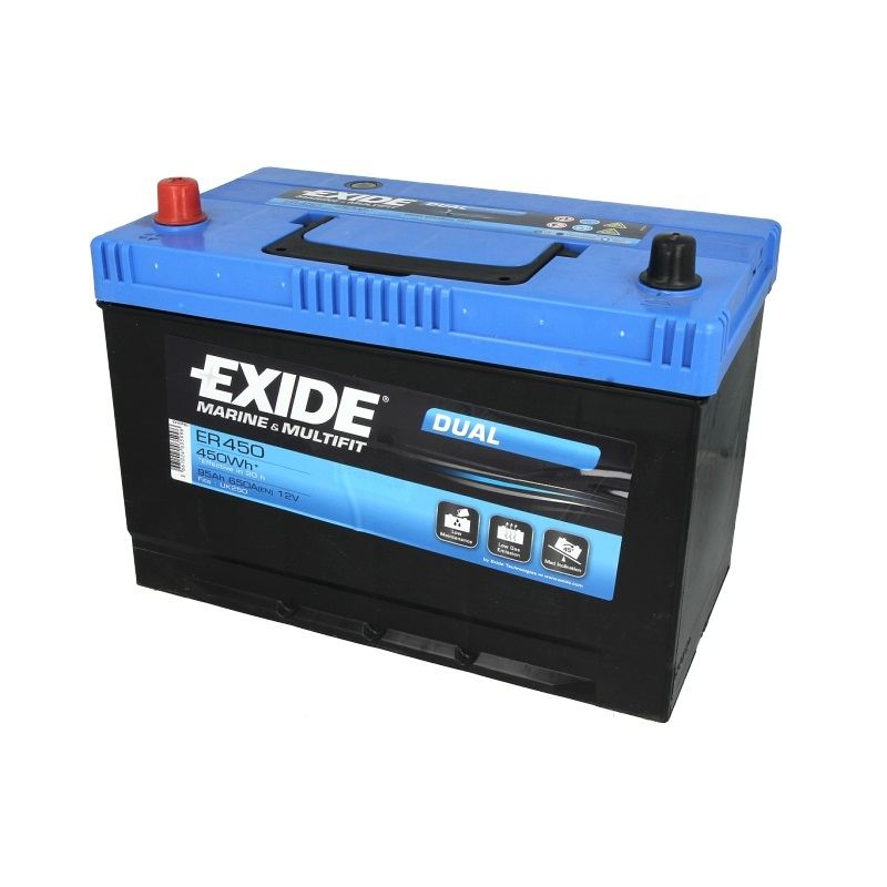 Akumulators EXIDE DUAL ER450