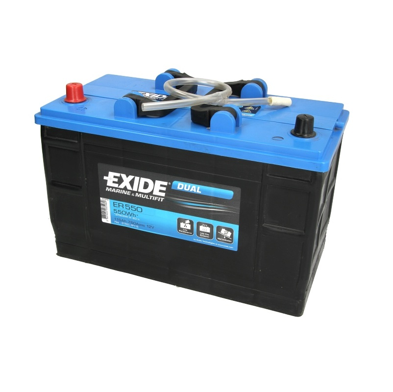 Akumulators EXIDE DUAL ER550