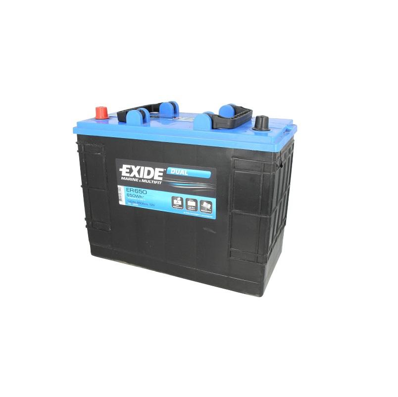 Akumulators EXIDE DUAL ER650