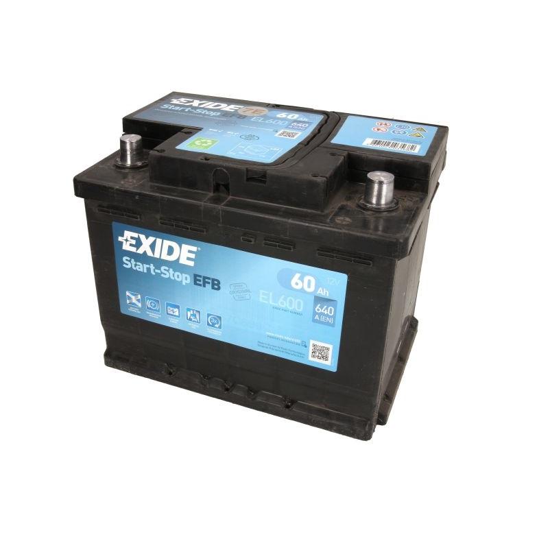 Akumulators EXIDE EFB EL600