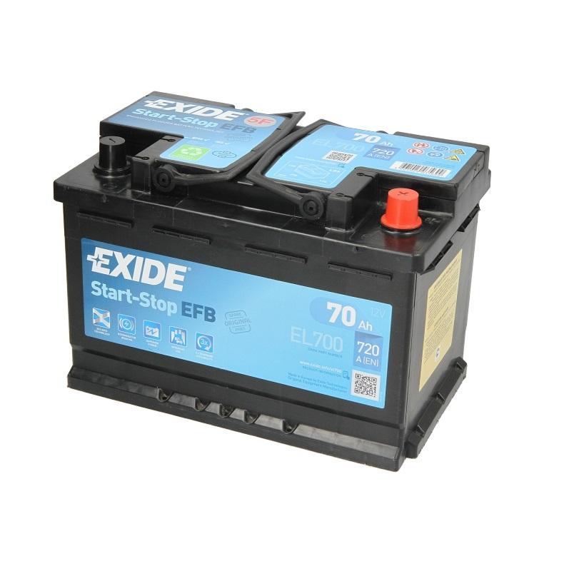 Akumulators EXIDE EFB EL700
