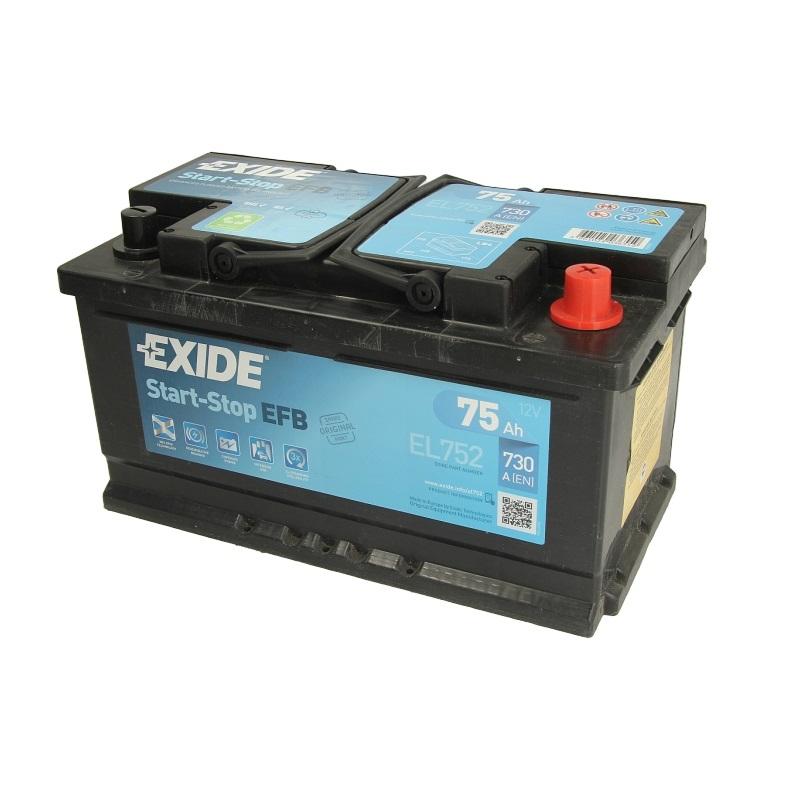 Akumulators EXIDE EFB EL752