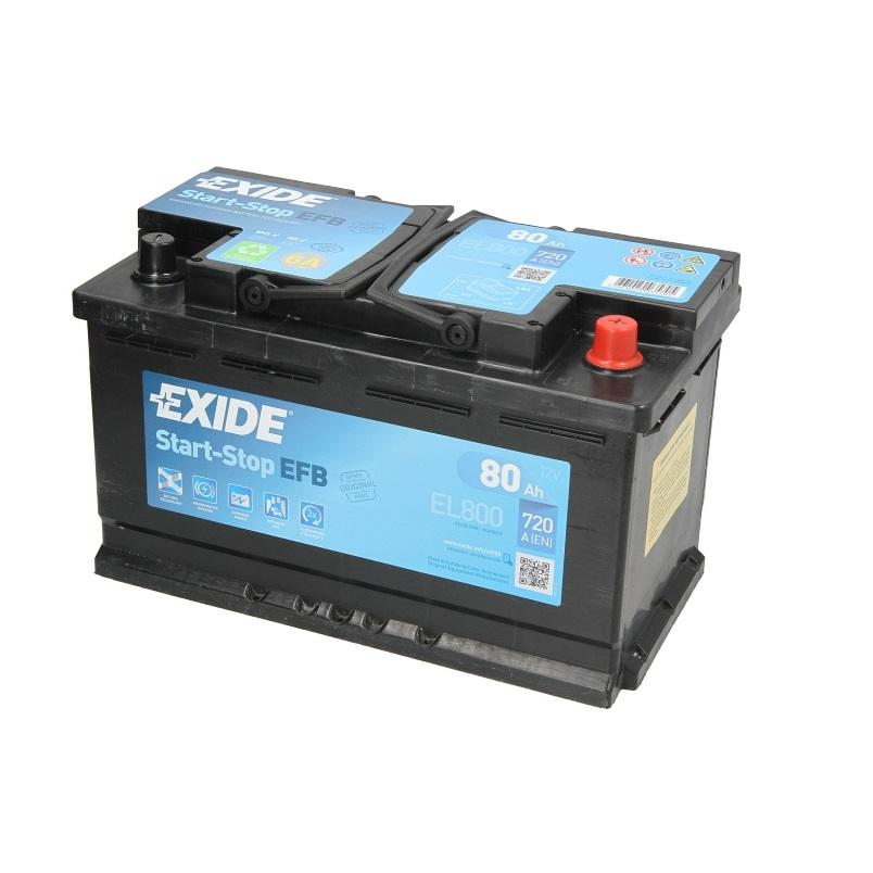 Akumulators EXIDE EFB EL800