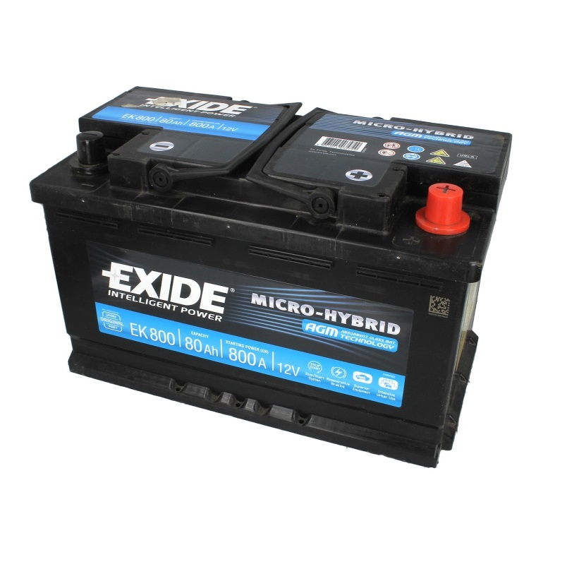 Akumulators EXIDE EK800
