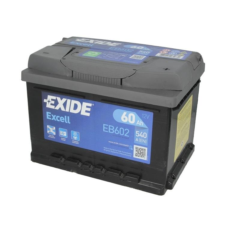 Akumulators EXIDE EXCELL EB602