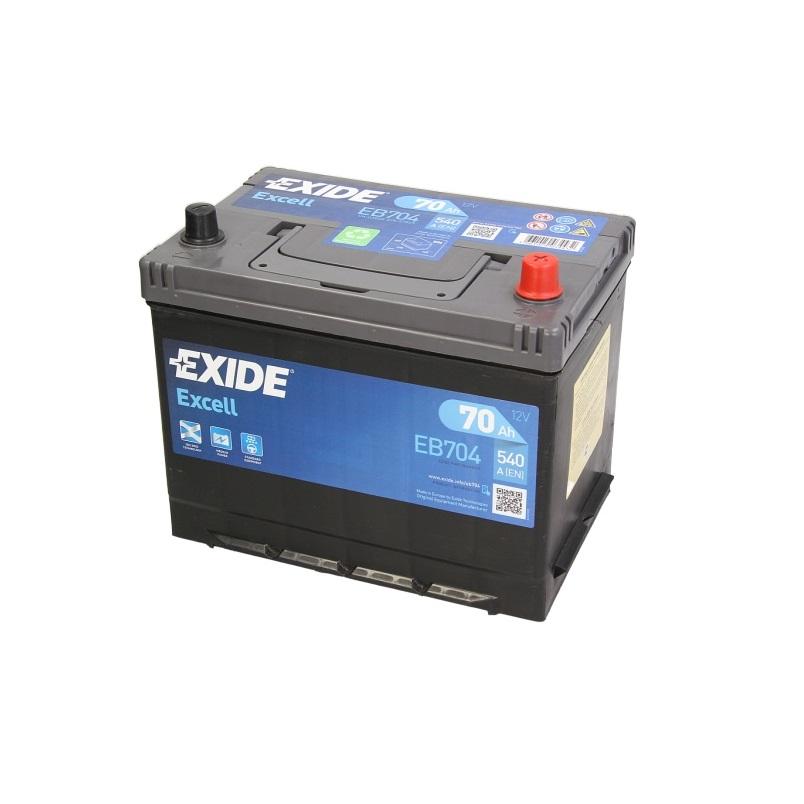 Akumulators EXIDE EXCELL EB704