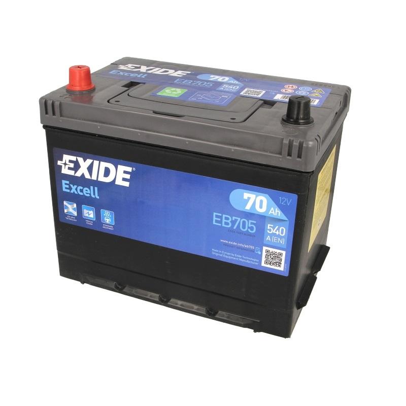 Akumulators EXIDE EXCELL EB705