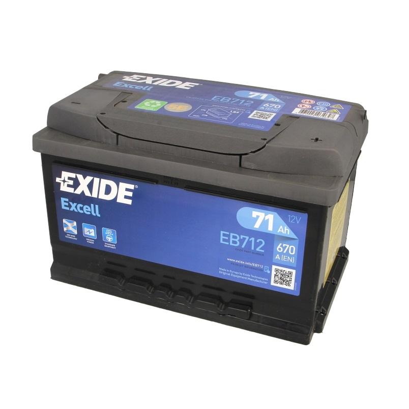 Akumulators EXIDE EXCELL EB712