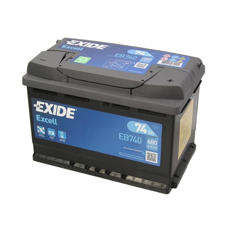 Akumulators EXIDE EXCELL EB740