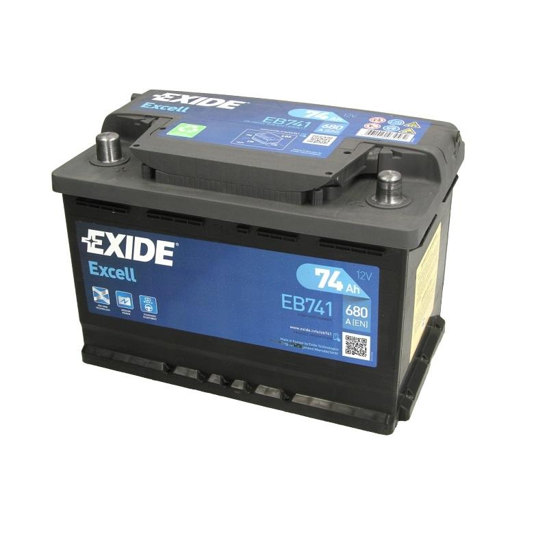 Akumulators EXIDE EXCELL EB741