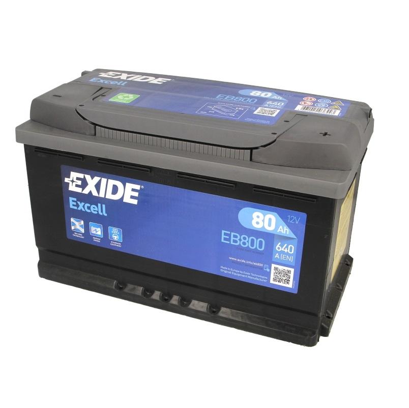 Akumulators EXIDE EXCELL EB800