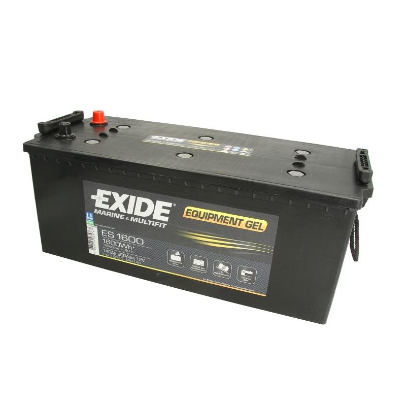 Akumulators EXIDE GEL/ZEL ES1600