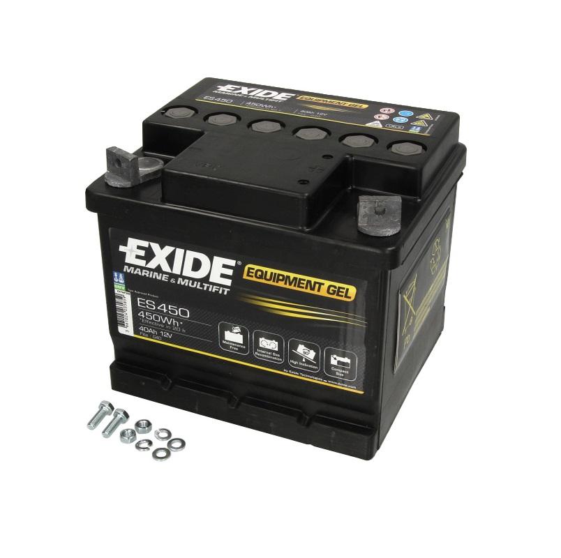 Akumulators EXIDE GEL/ZEL ES4500
