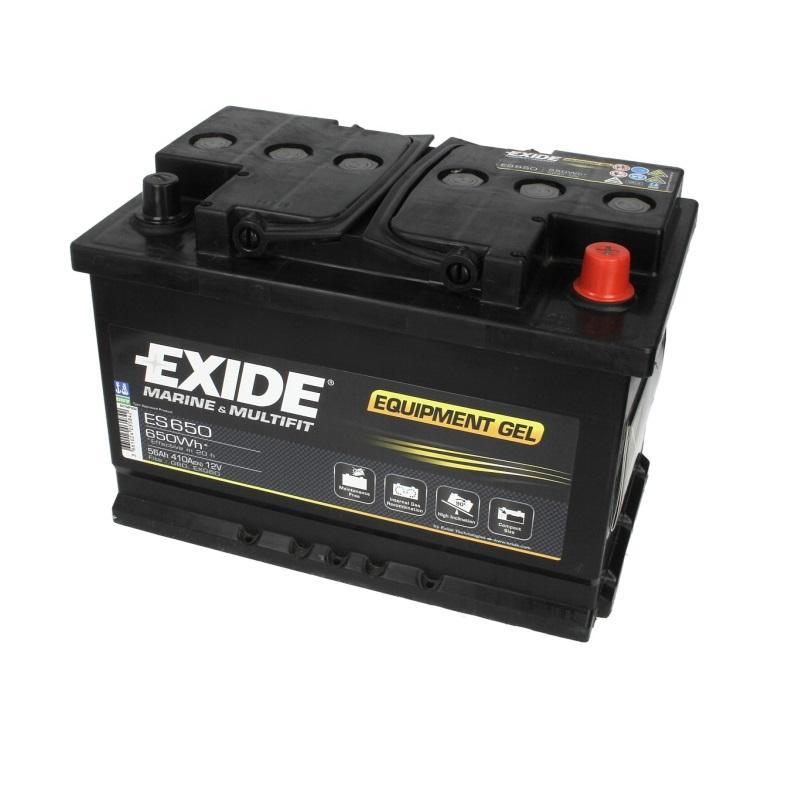 Akumulators EXIDE-GEL/ZEL ES650