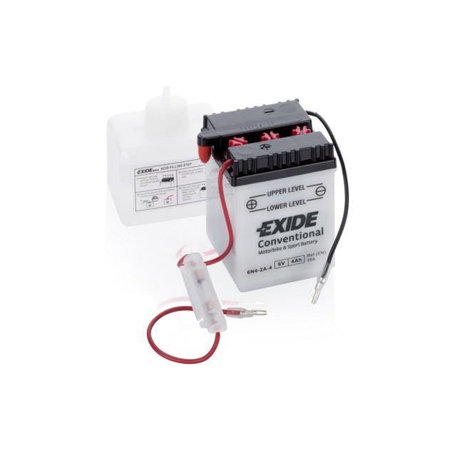 Akumulators EXIDE MAINTENANCE FREE 6N4-2A-4 EXIDE