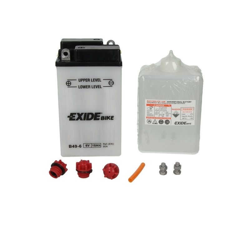 Akumulators EXIDE MAINTENANCE FREE B49-6 EXIDE