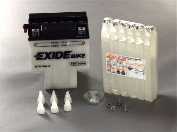Akumulators EXIDE MAINTENANCE FREE HYB16A-A EXIDE