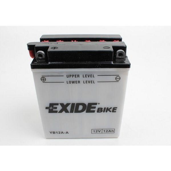Akumulators EXIDE MAINTENANCE FREE YB12A-A EXIDE
