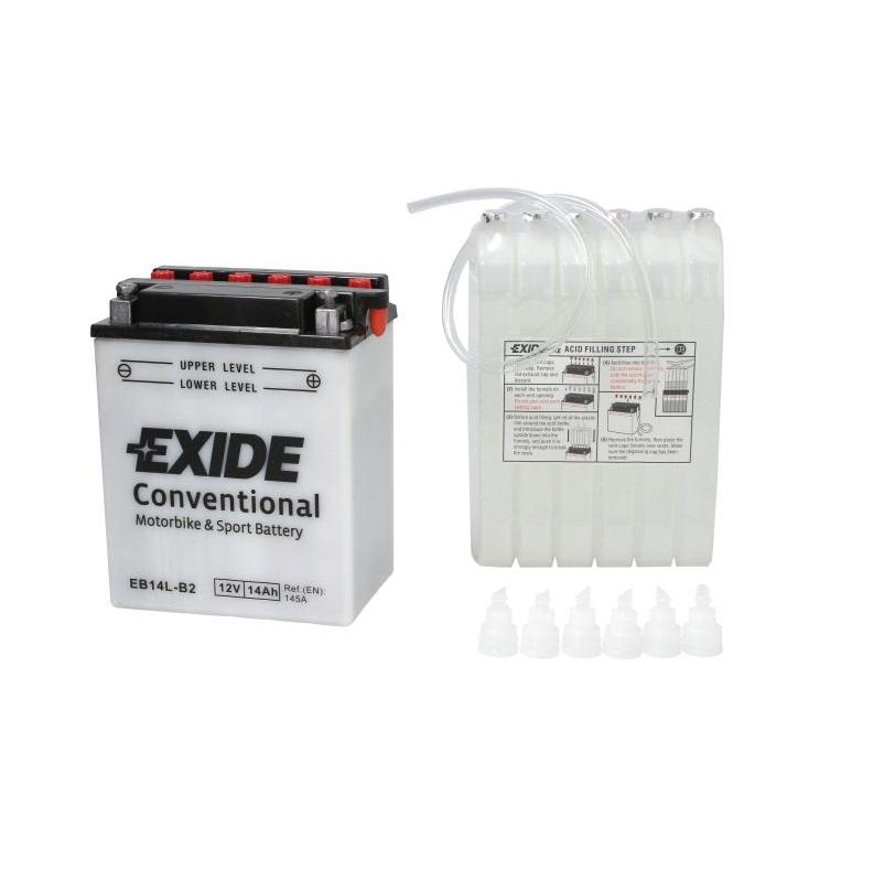 Akumulators EXIDE MAINTENANCE FREE YB14L-B2 EXIDE