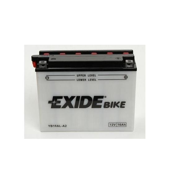 Akumulators EXIDE MAINTENANCE FREE YB16AL-A2 EXIDE