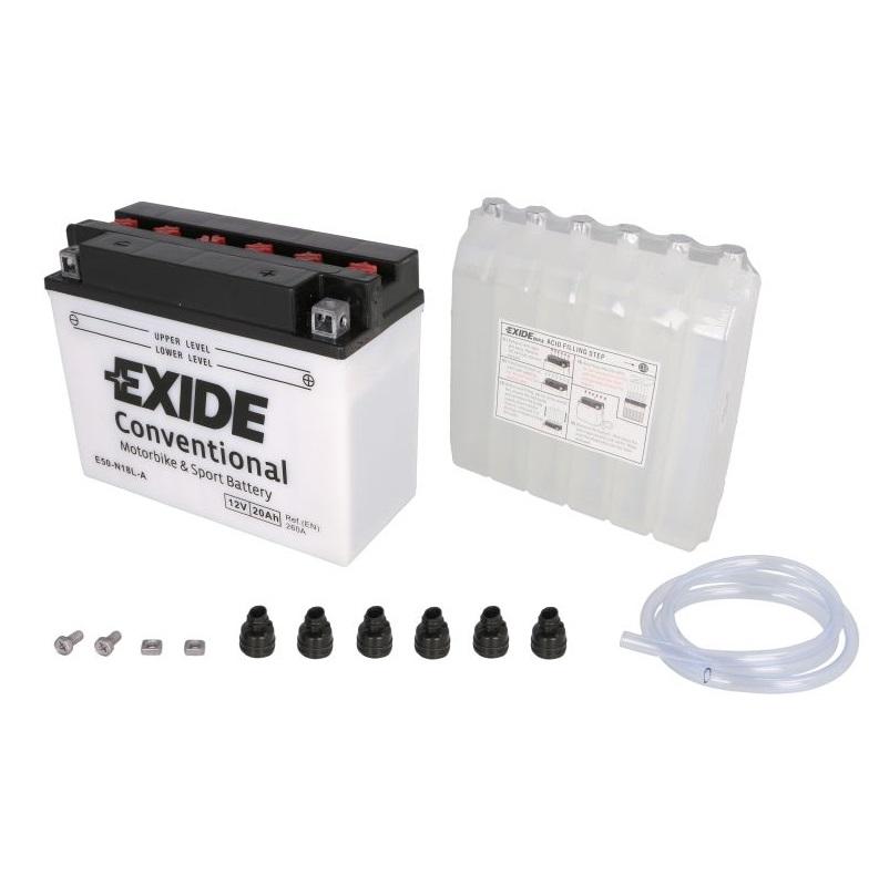 Akumulators EXIDE MAINTENANCE FREE YB18L-A EXIDE