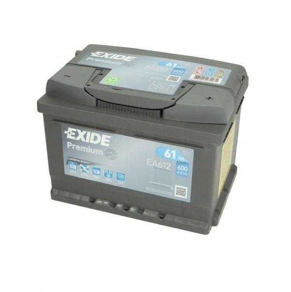 Akumulators EXIDE PREMIUM EA612