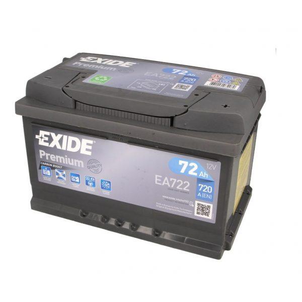 Akumulators EXIDE PREMIUM EA722