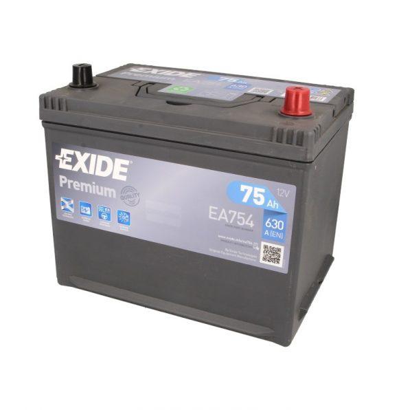 Akumulators EXIDE PREMIUM EA754