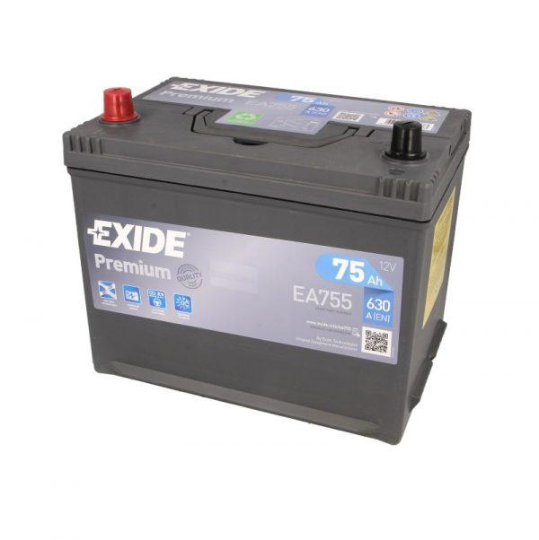 Akumulators EXIDE PREMIUM EA755