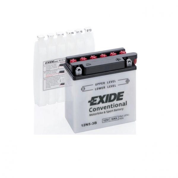 Akumulators EXIDE STANDARD 12N5-3B EXIDE
