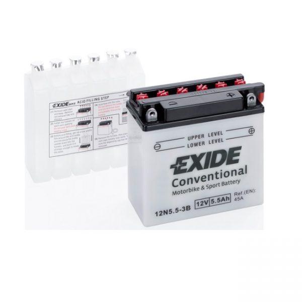 Akumulators EXIDE STANDARD 12N5.5-3B EXIDE