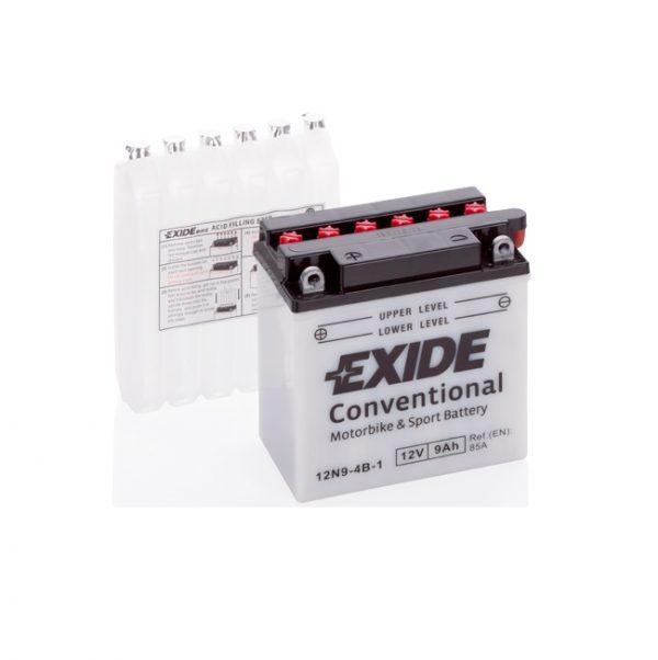 Akumulators EXIDE STANDARD 12N9-4B-1 EXIDE