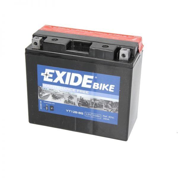 Akumulators EXIDE STANDARD YT12B-BS EXIDE